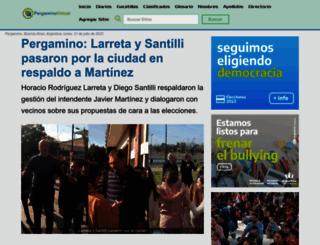 pergaminovirtual.com.ar screenshot