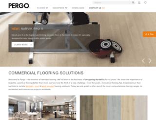 pergo.co.in screenshot