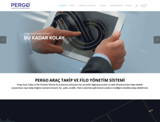 pergo.com.tr screenshot