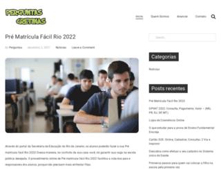 perguntascretinas.com.br screenshot