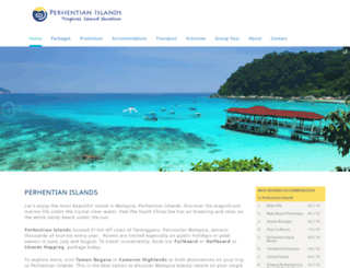 perhentian.com.my screenshot