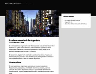 periodicoelbarrio.com.ar screenshot