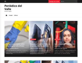 periodicoelvalle.com.ar screenshot