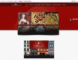 peritosdearte.com screenshot