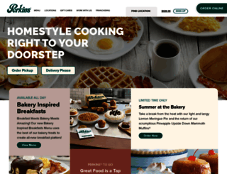 perkinsrestaurants.com screenshot