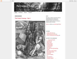permanentcrisis.blogspot.com screenshot