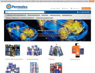 permatex.nl screenshot