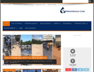 permianshale.com screenshot