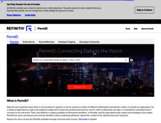 permid.org screenshot