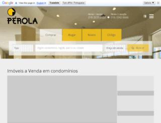 perolaimoveis.com.br screenshot