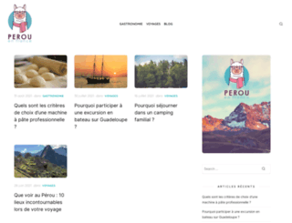 perouenfrance.com screenshot