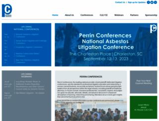 perrinconferences.com screenshot