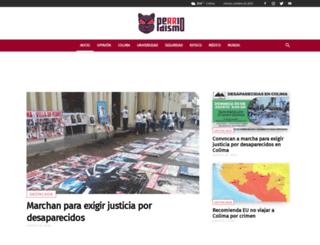 perriodismo.com.mx screenshot