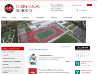 perry-lake.k12.oh.us screenshot