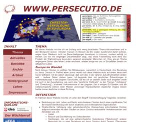 persecutio.de screenshot
