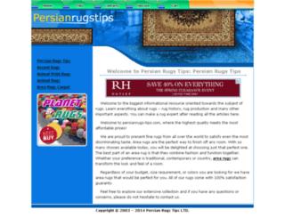 persianrugs-tips.com screenshot
