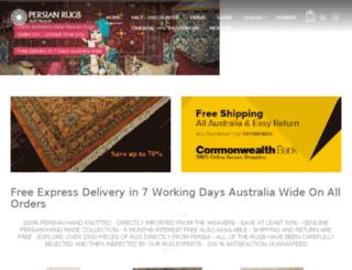 persianrugsaustralia.com.au screenshot