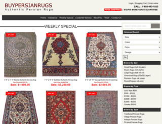 persianrugscenter.com screenshot