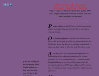 persiansaffrononline.com screenshot
