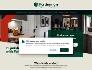 persimmonhomes.com screenshot