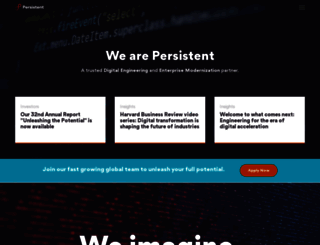 persistent.com screenshot
