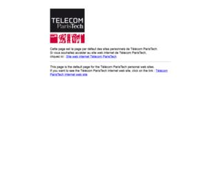perso.telecom-paristech.fr screenshot