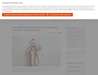persolog-blog.de screenshot