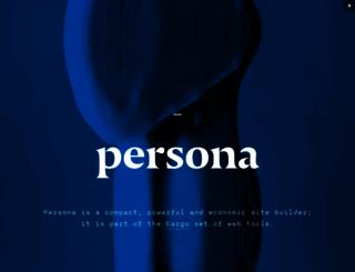 persona.co screenshot