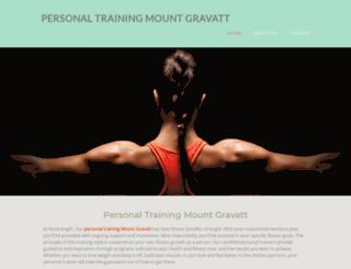 personal-training-mount-gravatt.yolasite.com screenshot