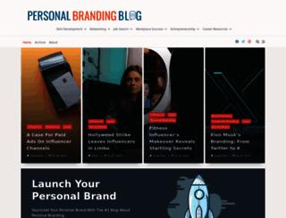 personalbrandingblog.com screenshot