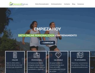 personaldiet.es screenshot