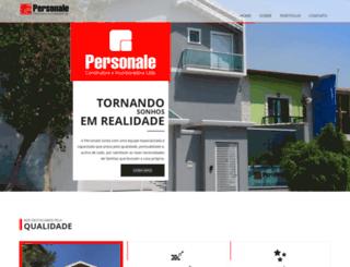personaleconstrutora.com.br screenshot
