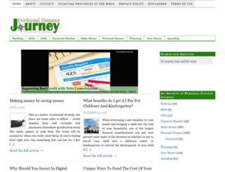 personalfinancejourney.com screenshot