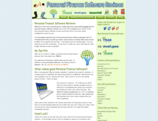 personalfinancesoftwarereviews.com screenshot