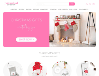 personalisedgiftshop.co.uk screenshot