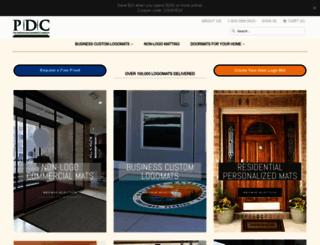 personalizeddoormats.com screenshot