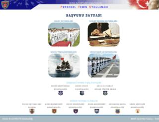 personeltemin.dzkk.tsk.tr screenshot
