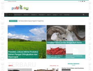 pertanianku.com screenshot