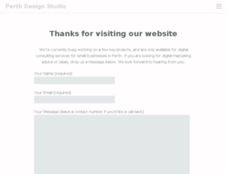 perthdesignstudio.com.au screenshot