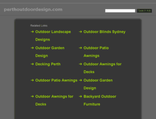 perthoutdoordesign.com screenshot