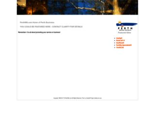 perthwa.com screenshot