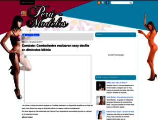 peru-modelos.blogspot.com screenshot