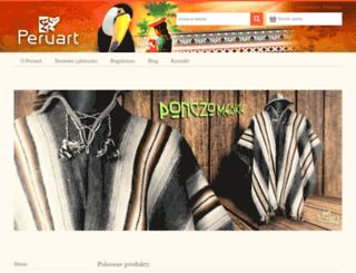 peruart.pl screenshot