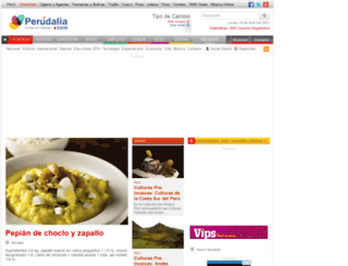 perudalia.com screenshot