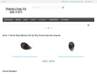 peruk.com.tr screenshot