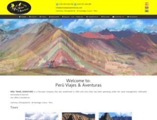 peruviajesyaventuras.com screenshot