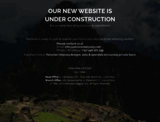 peruvianodyssey.com screenshot