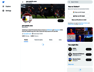 pes-patch.com screenshot