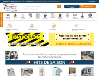 pesage-mb.com screenshot