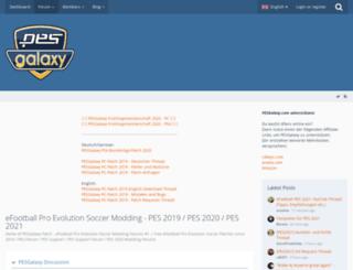 pesgalaxy.com screenshot